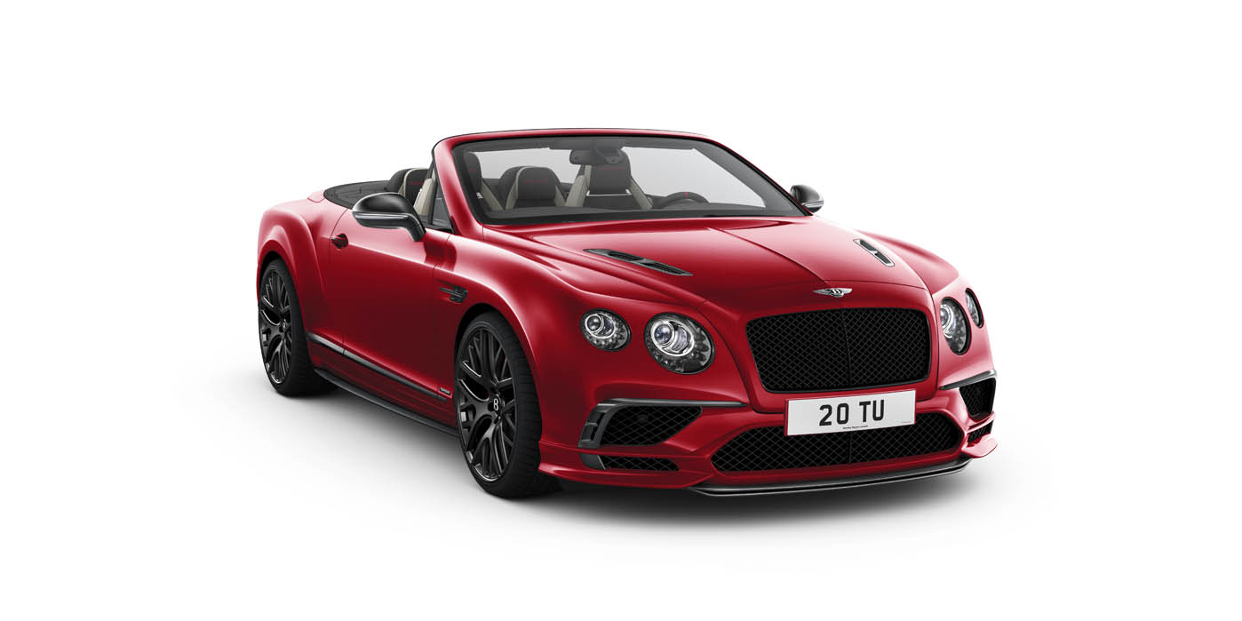 Continental Supersports Convertible Bentley Export